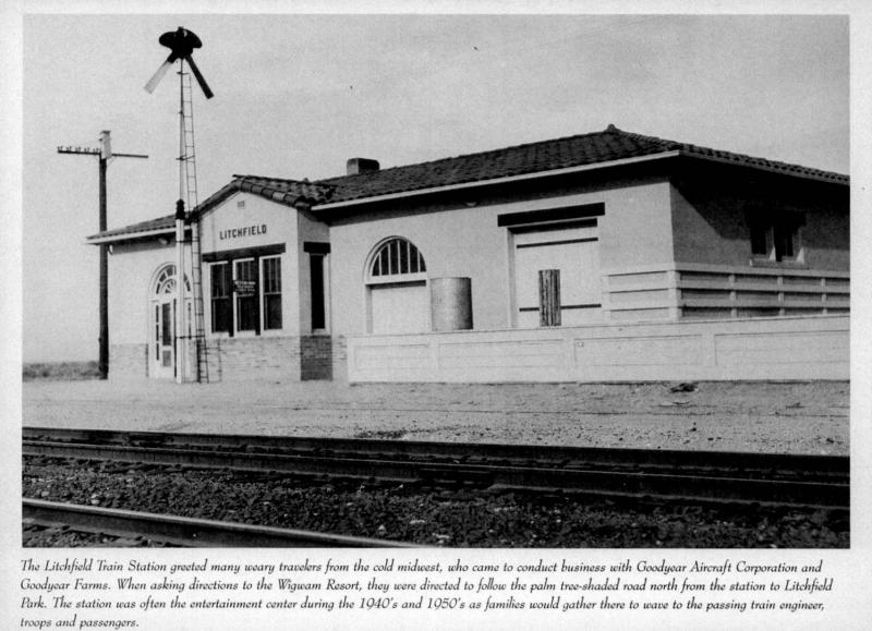 Litchfield AZ Station SPRR