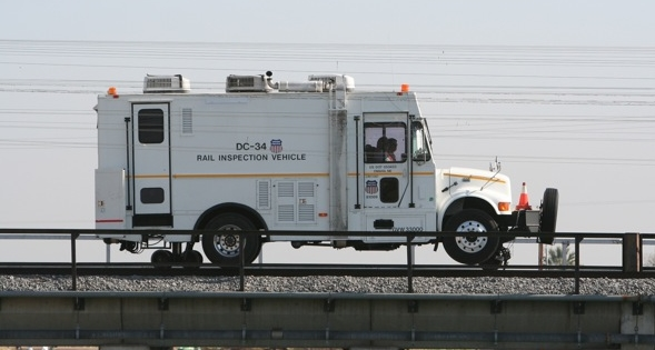 Rail Detection vehicle Yuma