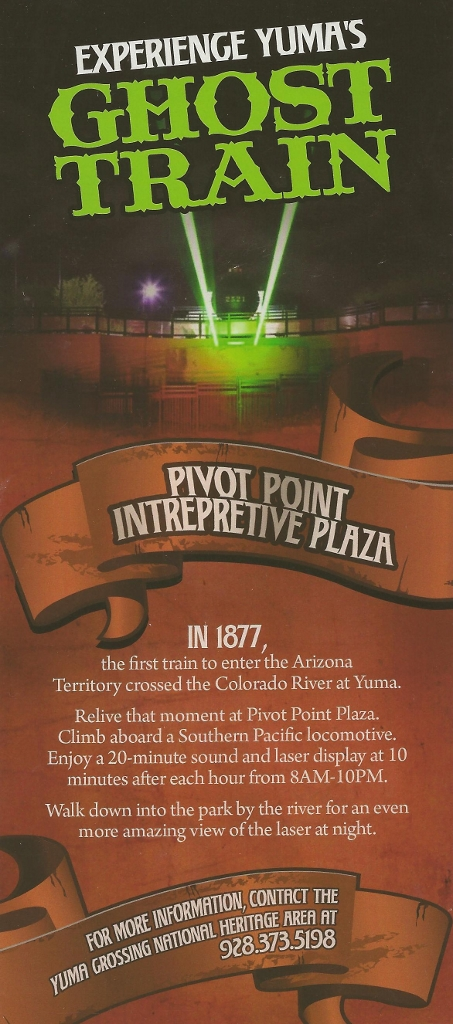Yuma Ghost Train Brochure