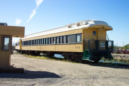 Yuma Valley Railway pass car 644 observation