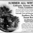 Southern Pacific RR Sunset Route advertisement from 1903